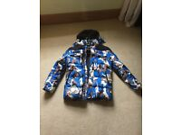 Big Belly Clothing Coat Limited Edition Blue Camo