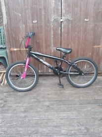 Girl's BMX bike hardly used