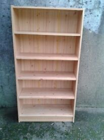 Pine Colour Shelves - DELIVERY AVAILABLE