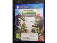 Plants bs zombies ps4