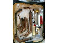 Oxy-Acetylene equipment. BOC Saffire 3 welding and cutting torches.