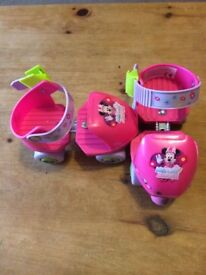 Young childs roller skates