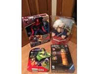 Brand New Toys Spider-Man, Lego, Postman Pat, 3D Puzzle from £10