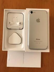 Brand new Apple iPhone 7 silver unlocked