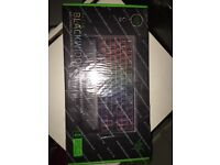 Razer Blackwidow v2 chroma Tournament edition green switches (Used once)