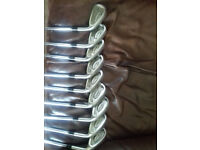 Full set of Precept extra Velocity irons in mint condition!