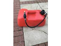22.7L fuel tank for outboard with primer