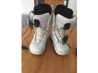 White Snowboard Boots size 4.5