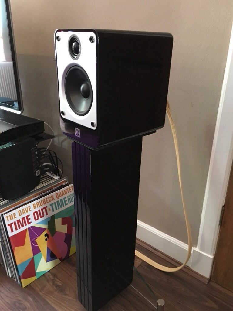 Q Acoustics Concept 20 Speakers With Matching Stands And