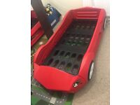 Red boy's car bed for sale