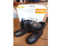 stihl function chainsaw boots brand new size 42
