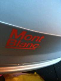 Mont blanc roof box and bars