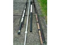 2 rods and 2 net handles