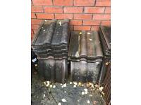 45 x sandtoft roof tiles- unused old stock