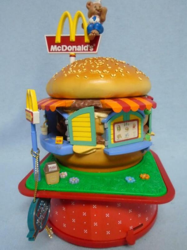 Enesco Small World Of Music Mcdonald's Food, Folks, & Fun Action Musical
