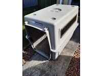 Air freight approved dog crate