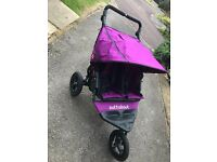 Out and About Nipper Double 360 pram pushchair nearly new!