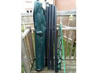Drennan 5ft fishing pole holdall and brolly