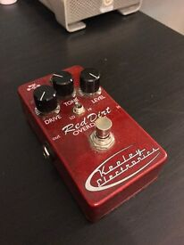 Keeley Red Dirt Overdrive Pedal Tubescreamer