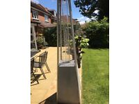 Two Patio Heaters with Gas Cylinders, need a bit of Tlc