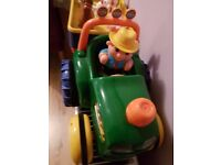 Childrens Tractor and Trailer