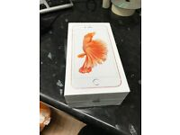 APPLE IPHONE 6S 16GB ROSE GOLD FACTORY UNLOCKED WITH RECEIPT