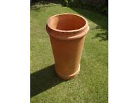 Chimney Pot / Garden Planter, beautifully aged