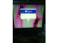 Packard Bell Desktop plus 2 x Monitors Spares or Repairs Only Please Read Full Ad