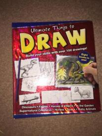 ULTIMATE THINGS TO DRAW ART GUIDE BOOK