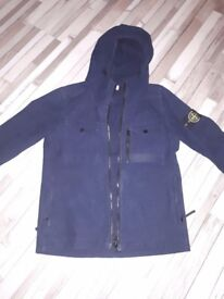 Small mans navy stone island coat,bought from cruise. Selling for £100 only ever wore a few times.