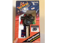 Voltron Star Shooter 100mm Film Camera. Brand new! Still in box. Collection only.