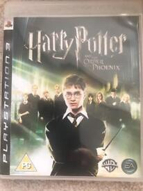 PS3 Harry Potter and the Order of Phoenix Game
