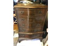 Nice small antique chest of drawers