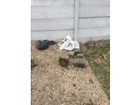 4 pieces of rock for rockery