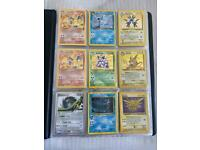 Various individual Pokemon cards