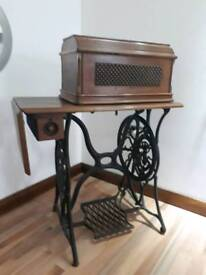 Singer sewing machine late 1800s