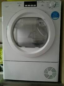 Heat pump condensing tumble dryer for sale.