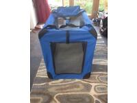 Folding soft dog crate (XL)