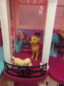 Barbie dreamhouse 4ft tall