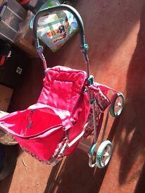 Children's silver cross buggy