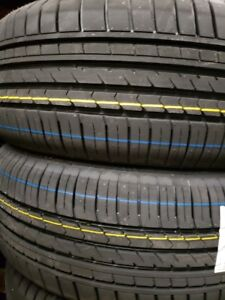 4 summer tires new 225/40r18 and 255/35r18
