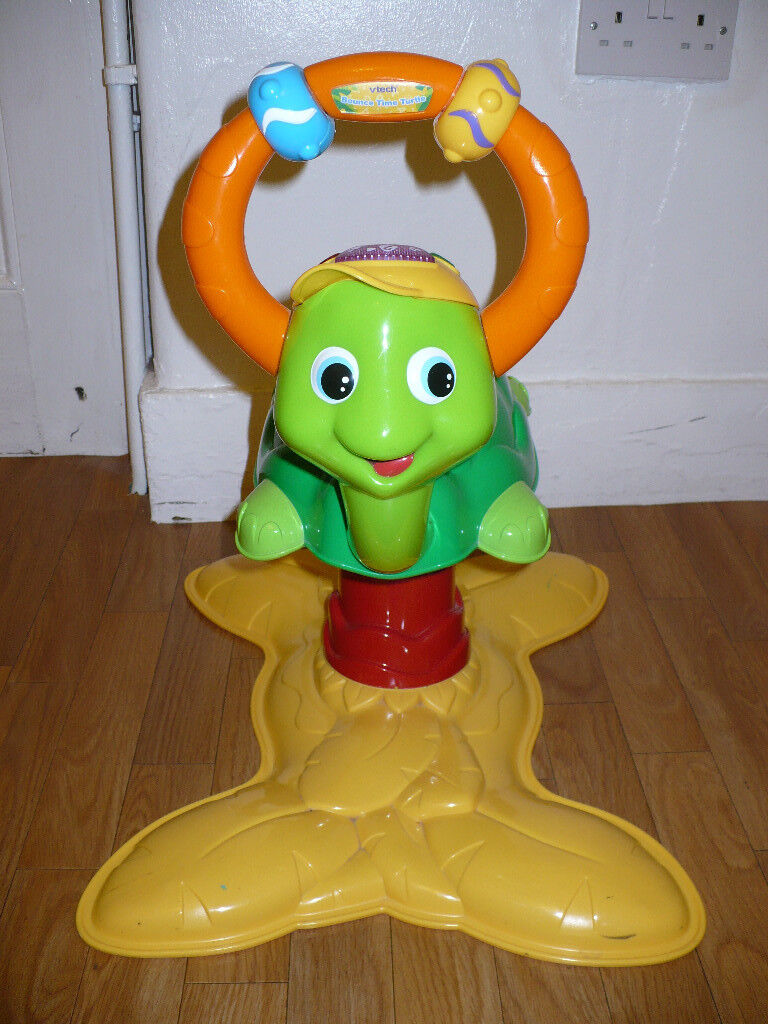 Vtech Animal Fun Bounce Time Turtle Musical Bouncer, 18m+. Very good clean condition.