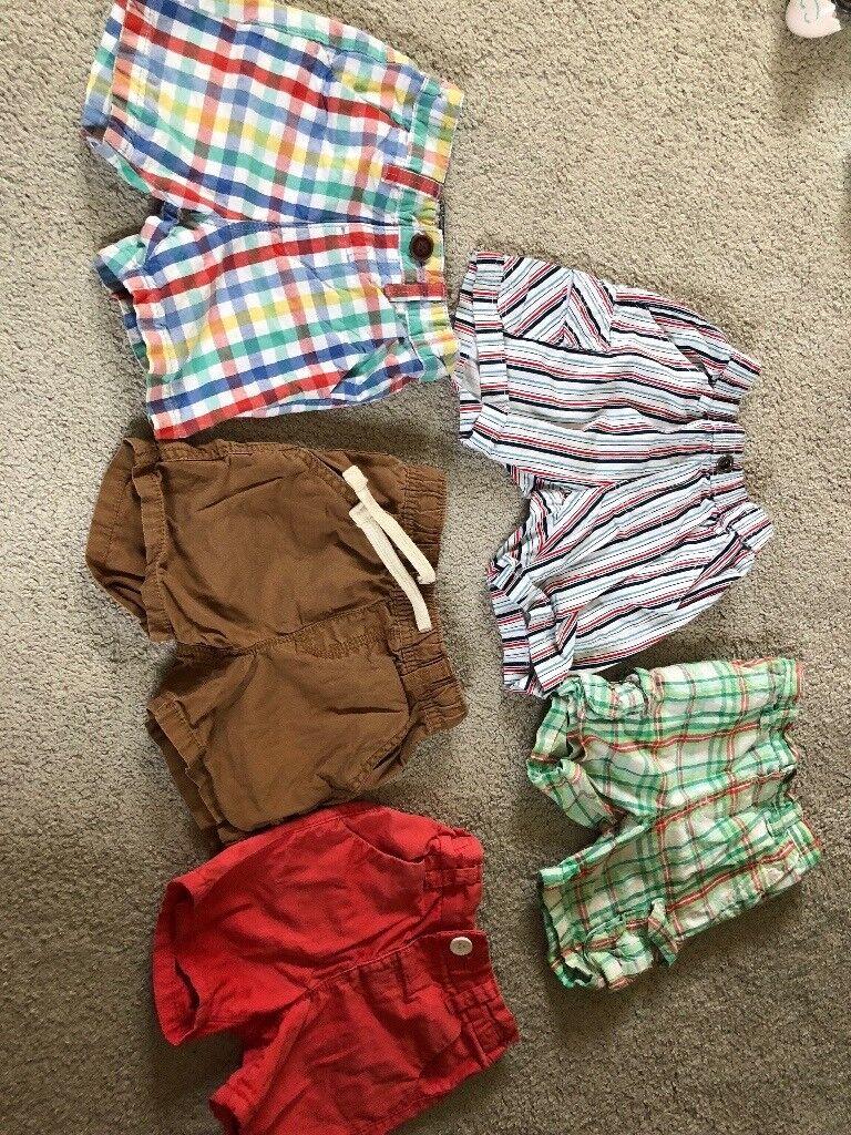 dd607f58e2a8 12-18 month baby boy shorts bundle mainly next