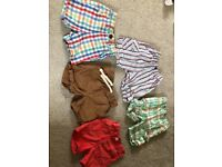 12-18 month baby boy shorts bundle mainly next