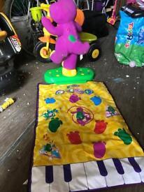 Barney dance mat