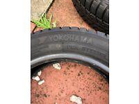 4 Yokohama winter tyres