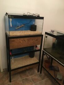 Fish tanks for breeding and growing