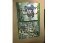 Xbox one S games. Fifa 17 and 15