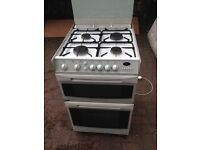 White Gas cooker 60cm..Cheap Free delivery