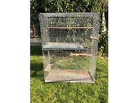 Cage, large size suitable for ferrets, chipmunks, degu, chinchilla or rats